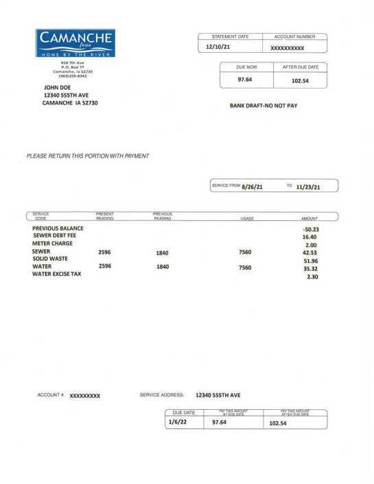 Iowa City Iowa Pay Water Bill